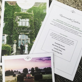 Recommended florist Eastwell Manor